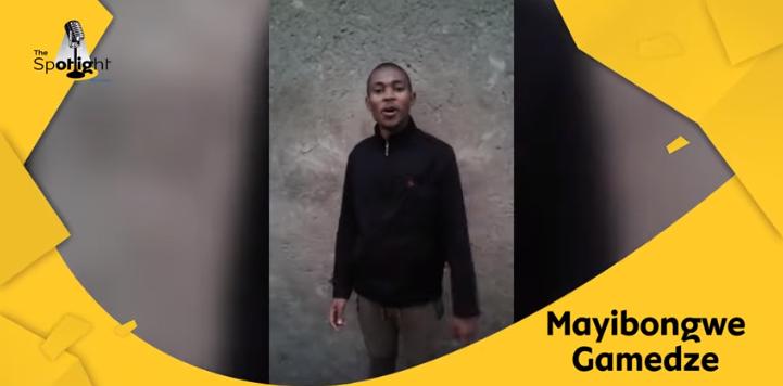 mayibongwe gamedze
